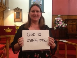 Carol, God using me