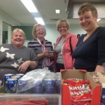Running the tuck shop