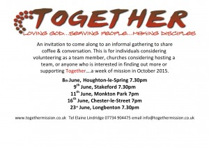 Coffee dates for Together