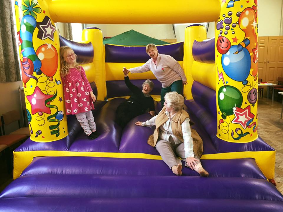 Stanley bouncy castle